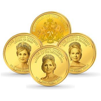 Die jungen Königinnen - 3 Goldmünzen, Gambia
