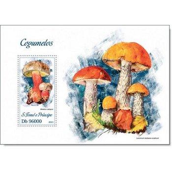 Pilze - Briefmarken-Block postfrisch, St. Thomas