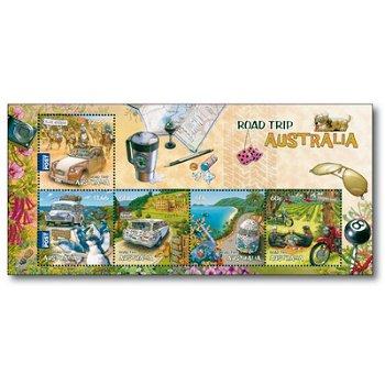 Mit dem Auto durch Australien - Briefmarkenblock Nr. 149 postfrisch, Australien