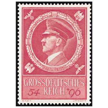 55. Geburtstag von Adolf Hitler - Briefmarke, Katalog-Nr. 887, postfrisch, Deutsches Reich