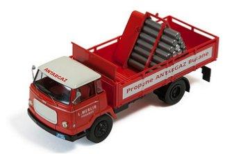 Modell-LKW:Unic Auteuil von 1963- Gas Transporter -(IXO, 1:43)