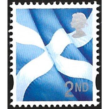 Landeswahrzeichen - Regionalmarke, Katalog-Nr. 115, GB - Schottland
