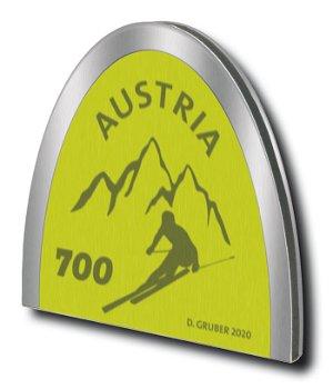 Skispitzen-Briefmarke - Briefmarke postfrisch, Österreich