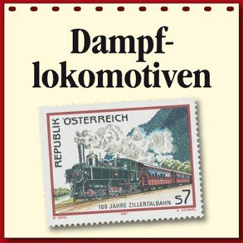 Dampflokomotive auf Briefmarken, Motivabonnement
