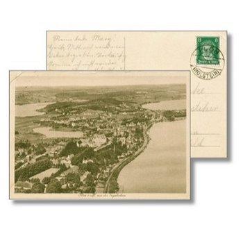 2320 Plön - Postcard & quot; Cityscape & quot;