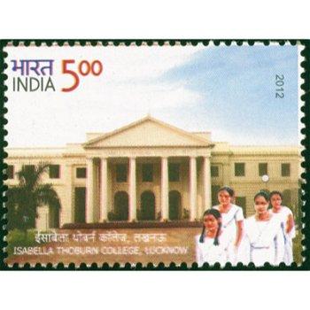 Isabella Thoburn College, Lucknow - Briefmarke, postfrisch, Indien