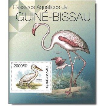 Wasservögel - Briefmarken-Block postfrisch, Katalog-Nr. 5861 Bl. 1034, Guinea-Bissau