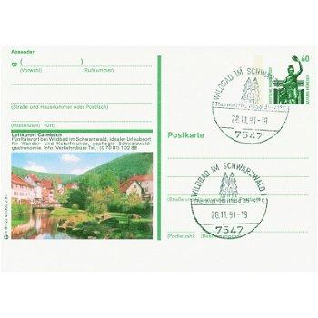 7547 Calmbach - Bildpostkarte
