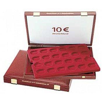 Lindner-Luxuskassette für 48 10-Euro-Gedenkmünzen