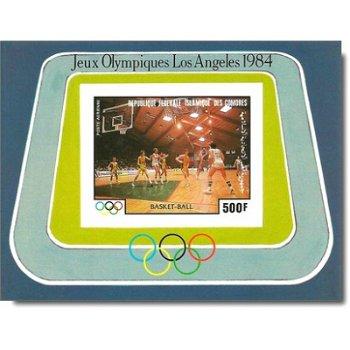 Olympische Sommerspiele, Los Angeles – Briefmarken-Block postfrisch, ungezähnt, Katalog-Nr. 717, Blo