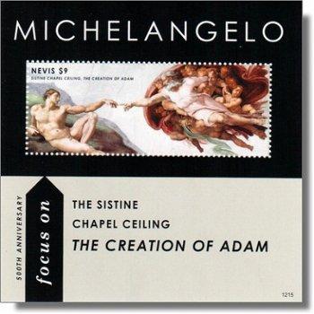 500 Jahre Sixtinische Kapelle - Briefmarkenblock postfrisch, Nevis