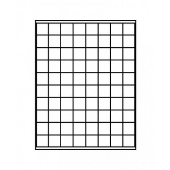 LINDNER Münzenbox, quadratische Vertiefungen 24mm, LI 2180C, Carbo
