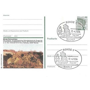"4980 Bünde - Bildpostkarte ""Der Doberg"""