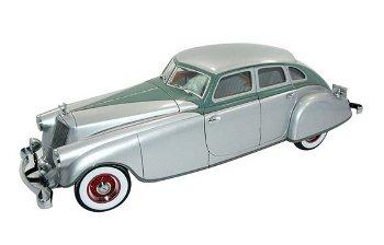 Modellauto:Pierce-Arrow von 1933, silber-grün(Signature Models, 1:18)