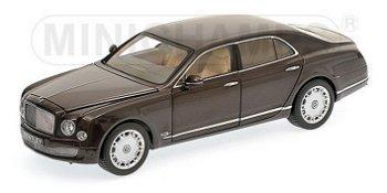 Modellauto:Bentley Mulsanne von 2010, braunII. Wahl(Minichamps, 1:18)