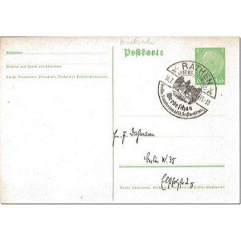"""6619 Rathen - Ganzsache """"Werbeschau"""""""