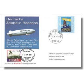 Zeppelin NT, flight of 100,000 passengers - document, Germany