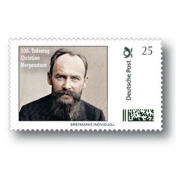 100. Todestag von Christian Morgenstern - Marke Individuell postfrisch, Deutschland