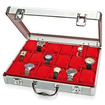 SAFE Uhren-Koffer Maxi in Rot, Safe 266-1