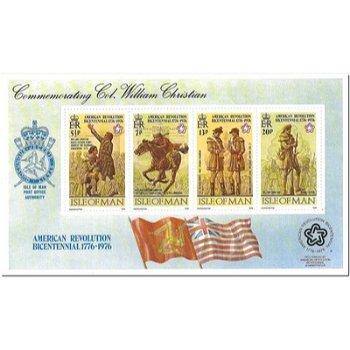 200 Jahre Unabhängigkeit der Vereinigten Staaten von Amerika - Briefmarken-Block postfrisch, Katalog