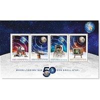 50 Jahre Mondlandung: Apollo 11 - Briefmarkenblock postfrisch, Australien