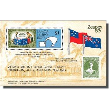 Internationale Briefmarkenausstellung ZEAPEX '80 – Briefmarken-Block postfrisch, Katalog-Nr. 435, Bl