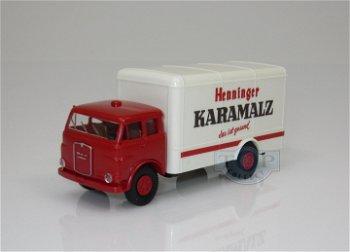 Modell-LKW:MAN - Henninger Karamalz -(Brekina, 1:87)