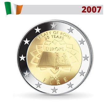 50 Jahre Römische Verträge, 2 Euro Münze 2007, Irland