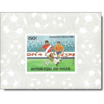 Fußballweltmeisterschaft 1986 - 4 Luxusblocks postfrisch, Katalog-Nr. 908-911, Niger
