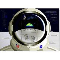Weltraum: 50 Jahre Mondlandung / Apollo 11 - Briefmarkenblock postfrisch, Bulgarien