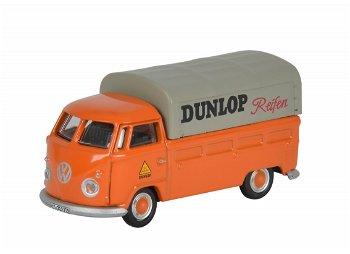 Modellauto:VW T1 Pritsche - Dunlop -(Schuco, 1:87)