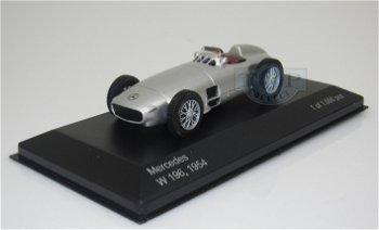 Modellauto:Mercedes-Benz W 196 von 1954, silber(WhiteBox, 1:43)