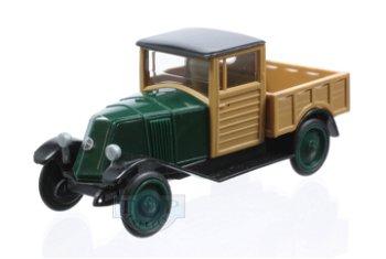 Modellauto:Renault NN1 Pick Up, grün-schwarz(Rietze, 1:87)