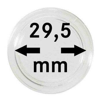 Münzkapseln,10er Pack für 5 €-Münzen Österreich, LI 2250295P