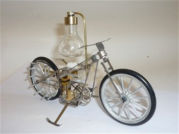 Dampfmodell:Dampf-Motorrad(Hielscher)