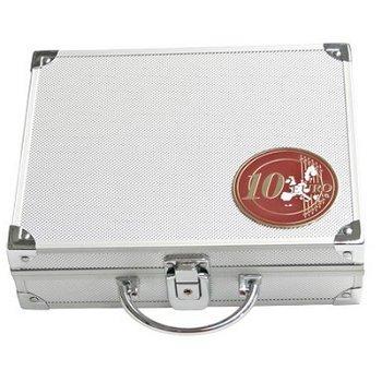 SAFE - Münzenkoffer für 10-Euro-Münzen in Kapseln, inkl. 6 Tableaus, Safe 173
