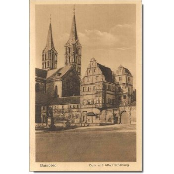 "8600 Bamberg - Postkarte ""Dom"""