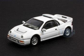 Modellauto:Ford RS 200 von 1986, weiß(Busch, 1:87)