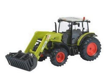 Modell-Traktor:Claas Axos 330 mit Frontlader FL 100(Schuco, 1:32)