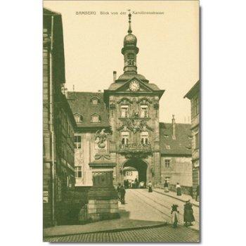 """8600 Bamberg - Posktarte """"Karolinenstrasse"""""""