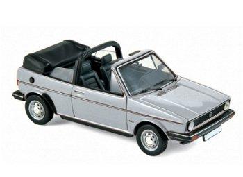 Modellauto:VW Golf Cabriolet von 1981, silber(Norev, 1:43)