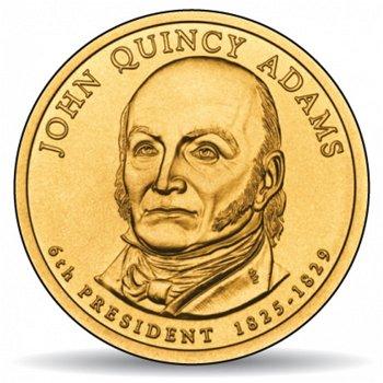 John Quincy Adams, Präsidentendollar 2008, USA