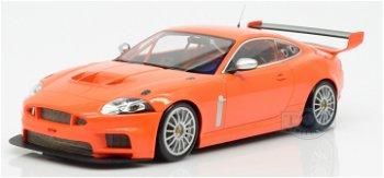 Modellauto:Jaguar XKR GT3 von 2008, orange(Minichamps, 1:18)