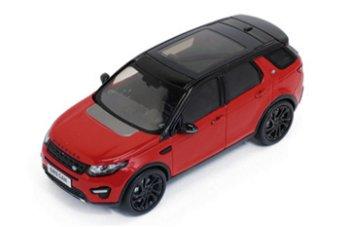 Modellauto:Land Rover Discovery Sport von 2015, rot(Premium X, 1:43)
