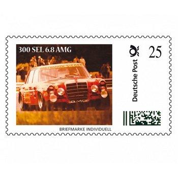 Mercedes 300 SEL, Die rote Sau - Briefmarke Individuell postfrisch, Deutschland