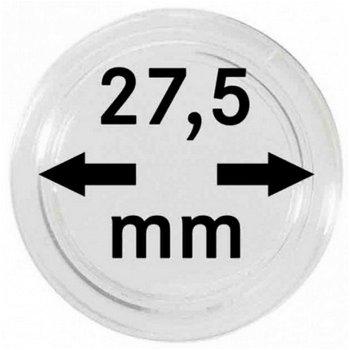 Münzkapseln,10er Pack für 5 €-Münzen z.Bsp. Blauer Planet, LI 2250 275P