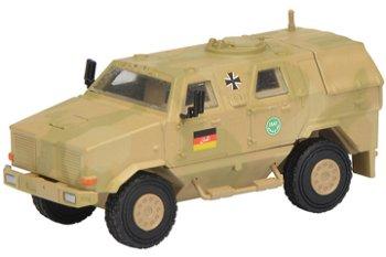 Militaria-Modell:Dingo I Allschutzfahrzeug, flecktarn, - ISAF -(Schuco, 1:87)