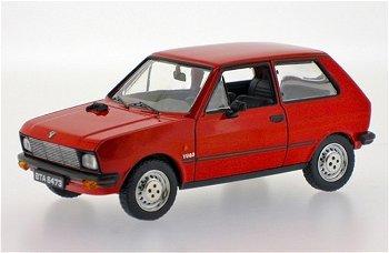 Modellauto:Yugo 45 von 1983, rot(IST Models, 1:43)
