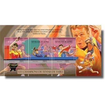 Tischtennis - Briefmarken-Block postfrisch, Katalog-Nr. 9312-9314, Guinea