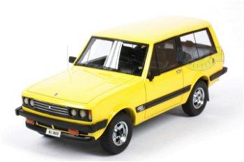 Modellauto:Monteverdi Safari von 1976, gelb(NEO, 1:43)
